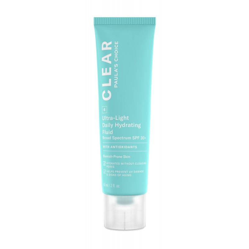 Clear Ultra-Light Daily Hydrating Fluid SPF 30+