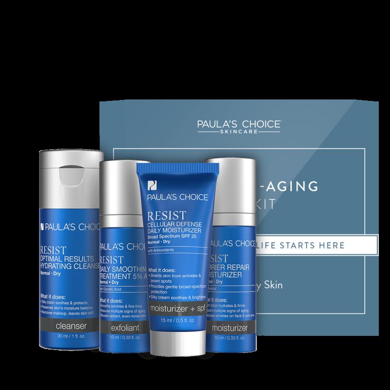 Resist Anti-Aging Trial Kit - per pelli da normali a secche
