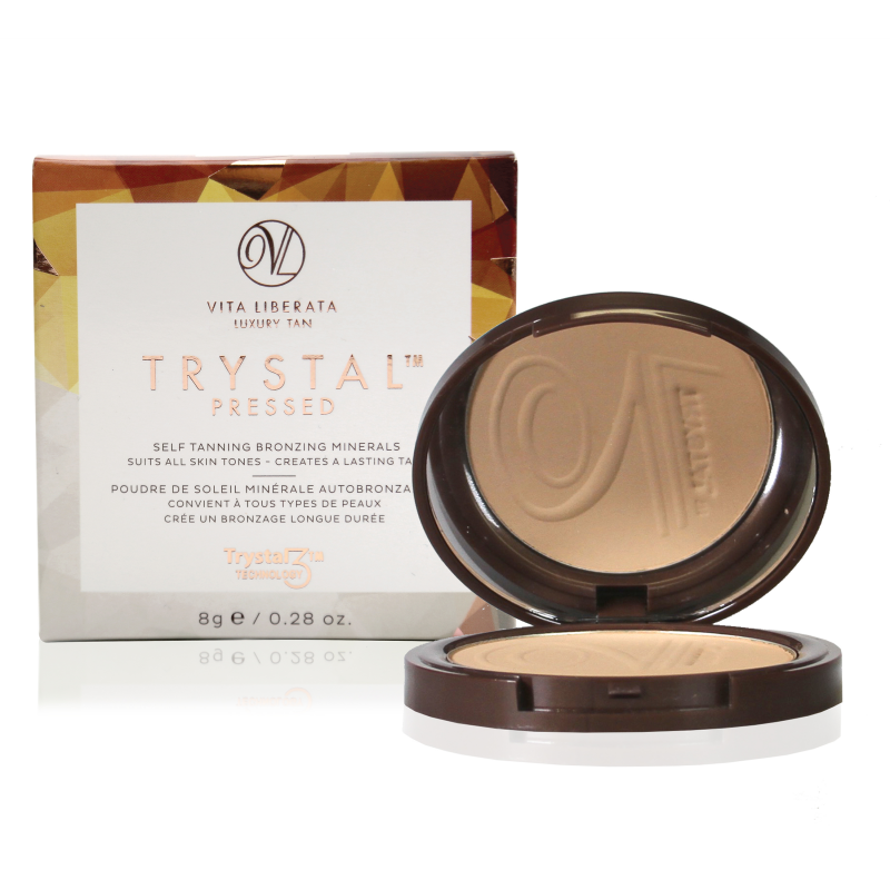 Trystal Pressed Self Tanning Bronzing Minerals - Sunkissed