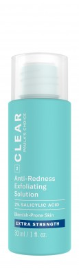 Clear Extra Strength Anti-Redness Exfoliating Solution With 2% Salicylic Acid formato prova