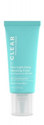 Clear Ultra-Light Daily Hydrating Fluid SPF 30+ formato prova