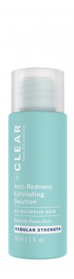 Clear Regular Strength Anti-Redness Exfoliating Solution With 2% Salicylic Acid formato prova