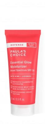 Defense Essential Glow Moisturizer SPF 30 formato prova