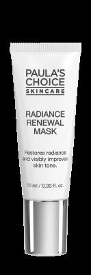 Radiance Renewal Mask formato prova
