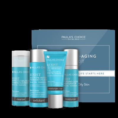 Resist Anti-Aging Trial Kit - per pelli da normali a grasse