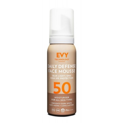 Daily Defense Face Mousse SPF 50